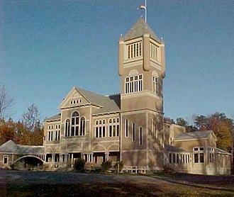 Monmouth, Maine - Cumston Hall
