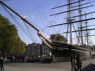 Cutty Sark in Greenwich, October 2003 Cutty sark October 2003.jpg