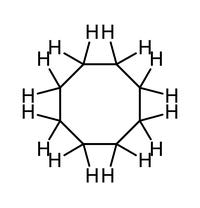 Strukturformel Strukturformel von Cyclooctan