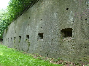 Fort Winiary - Part of the remaining fortifications: Ravelin I