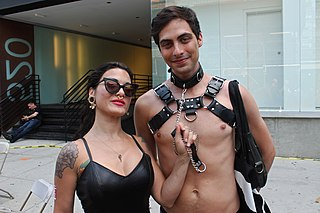 Master/slave (BDSM) consensual authority-exchange structured sexual relationship