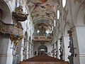 D-7-79-184 7 Moenchsdeggingen Klosterkirche Orgelempore-gegen-West 13.jpg
