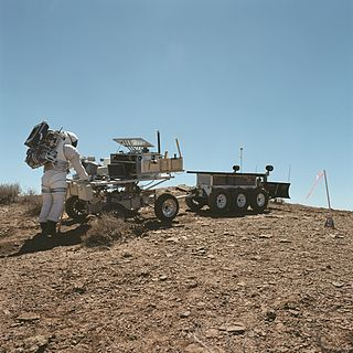 Desert Research and Technology Studies field trials of technologies for manned planetary exploration