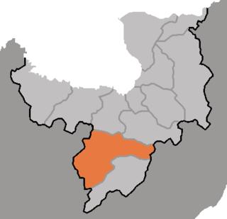 Pungso County County in Ryanggang, North Korea