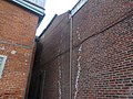 Damaged bricks on the rear of heritage homes on the west side of Parliament, between Adelaide and Richmond, 2014 01 31 (4).JPG - panoramio.jpg