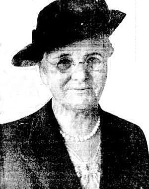 Dame Mary Cook - Mary Cook, 1939