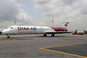 Dana Air - Dana Air McDonnell Douglas MD-83