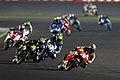 Dani Pedrosa leads the pack 2015 Losail.jpeg