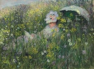 David David-Weill - Claude Monet, Dans la Prairie. Ex David David-Weill Collection.
