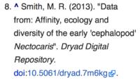 Data Dryad citation on Wikipedia.png