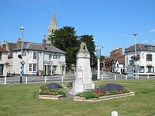 Datchet village in the United Kingdom