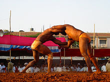 Wrestling match in Davangere (2005)