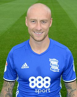 David Cotterill a Birmingham City színeiben 2016-ban