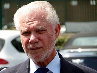 David Gold (businessman) - Gold in July 2014
