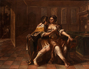 Bathsheba - David seducing Bathsheba