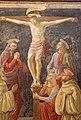 David ghirlandaio (attr.), crocifissione coi ss benedetto e romulado, da chiostro di s.m. degli angeli 02.JPG