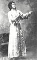 Davudova as Khumar in Sheikh Sanan.png