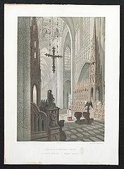 De kathedraal van Antwerpen, van binnen