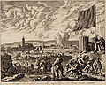 De vergeefse belegering van Steenwijk door Graaf van Rennenberg (Lalaing) in 1580-81 (Jan Luyken).jpg