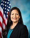 Deb Haaland, official portrait, 116th Congress