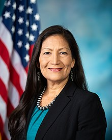 Deb Haaland, official portrait, 116th Congress.jpg