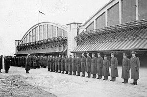 Debrecen International Airport - Members of the Royal Hungarian Air Force at Debrecen Airport, 1940