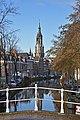 Delft Oosteinde from Catharijnebrug.jpg