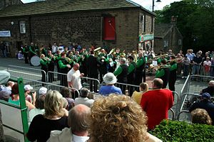 Denshaw - Since 1993, Denshaw has held an annual brass band contest.