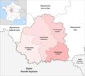 Departement Indre Arrondissement 2019.png