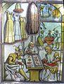 Der Kürschner, Jost Amman, nach Eygentliche Beschreibung aller Stände (Bleiglasbild).jpg