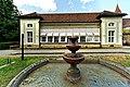 Der barocke Hofgarten mit Orangerie des Schlosses Kirchberg. 01.jpg