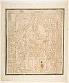 Design for a Wall Decoration with a River God and Putti carrying the Symbols of King François I MET DP812282.jpg