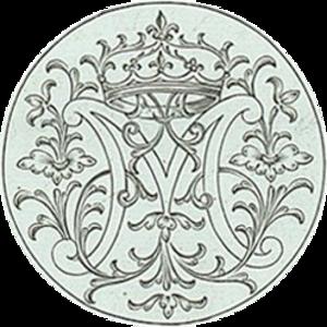 Jacques Boyceau - Detail with monogram