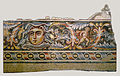 Detail of a mosaic floor from the triclinium (dining room) of a Roman villa - Google Art Project.jpg