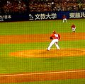 Deunte Heath Hiroshima Carp - July 30 2015.jpg