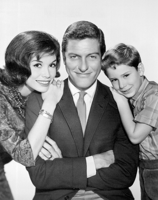 Dick Van Dyke Petrie family 1963