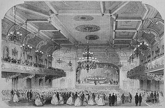 Concordia Hall (Baltimore, Maryland) - Interior (1866)