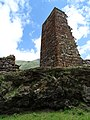 Dilapidated Watchtower outside Okrokana - Near Kazbegi - Greater Caucasus - Georgia (18606487955) (2).jpg