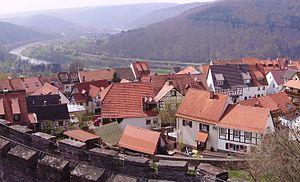 Rhein-Neckar-Kreis - Image: Dilsberg Neckartal