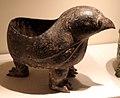 Dinastia han occidentale, tripode a forma di gufo, 206 ac-8 dc ca.jpg