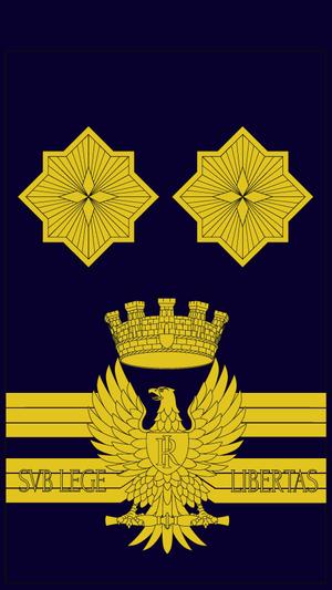 Greca (insignia) - Image: Dirigente generale ps