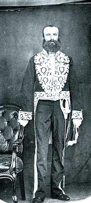 Dirk de Graeff van Polsbroek - Dirk de Graeff van Polsbroek (ca. 1863 Photograph by Dr A.F. Bauduin at Dejima)
