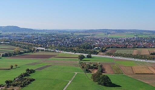 Ditzingen Panorama 2010