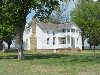 Will Rogers - The White House on the Verdigris River, Will Rogers' birthplace, near Oologah, Oklahoma