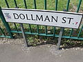 Dollman Street - road sign (7264352940).jpg