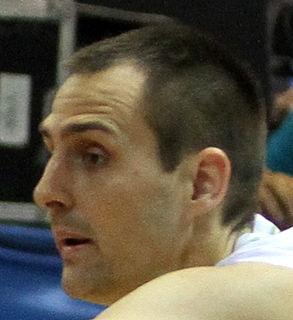 Domen Lorbek Slovenian basketball player