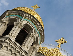 Domes of Naval Cathedral in Kronstadt.jpg, автор: ViseMoD