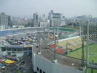 Dongdaemun Design Plaza - Dongdaemun Stadium Aerial View