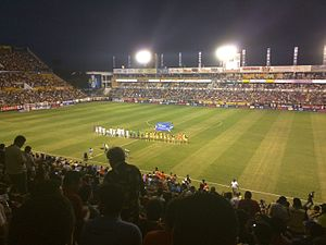 Dorados de Sinaloa -  Dorados de Sinaloa, playing against C.F. Monterrey at Estadio Banorte