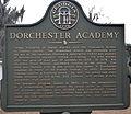 Dorchester Academy historical marker.jpg